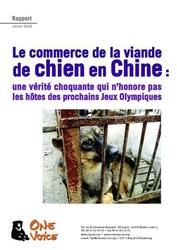Large medium small thumb le commerce de la viande de chien en chine
